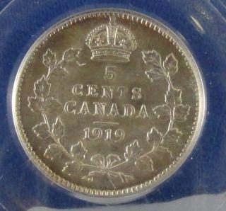 Canada 5 Cents 1919 photo