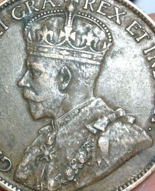 1913 Canada Large Cent - photo