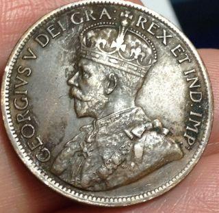 1919 Canada Large Cent - photo