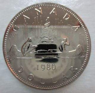1980 Canada Voyageur Dollar Proof - Like Coin photo