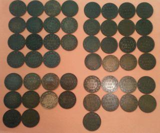 Canadian Large Cent photo