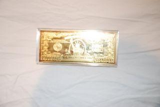 Washington Million Dollar Golden Proof (2006) photo