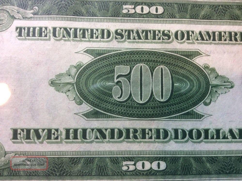 1934a $500 Mule Five Hundred Dollar Bill York Pcgs 63 Ppq