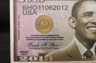 Of 100 Barack Obama 2013 Money Usa Dollar Bills U.  S.  A Novelty photo