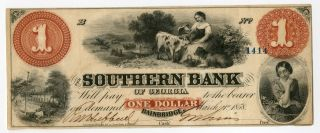 $1 The Southern Bank Of Georgia photo