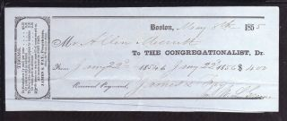 1855 The Congregationalist - Boston photo