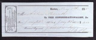 1855 The Congregationalist - Boston photo