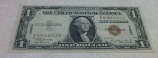 1935 A $1 Dollar Silver Certificate Hawaii Vf photo