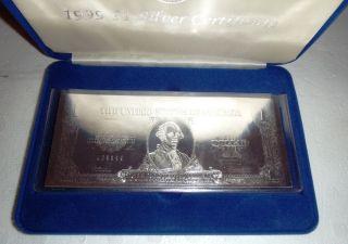 1999 1$ Silver Certificate photo