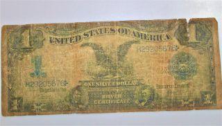 Black Eagle Silver Certificate One Silver Dollar Lincoln Grant photo