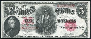 Fr.  91 1907 $5 Five Dollars