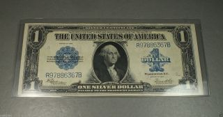1923 $1 One Dollar Silver Certificate Choice About photo