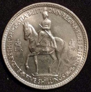 Great Britain Crown,  1953,  Coronation Of Queen Elizabeth Ii photo