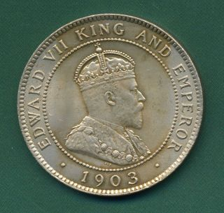 1903 Jamaica Penny. photo