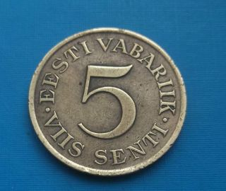 Estonia 5 Senti 1931 photo