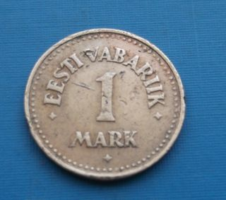 Estonia 1 Mark 1922 photo