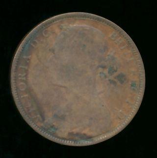 Great Britain 1883 Penny (bronze) photo