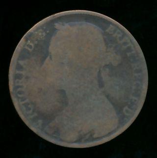 Great Britain 1882 Penny (bronze) photo