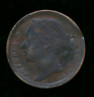 Great Britain 1866 1/3 Farthing (bronze) photo