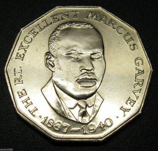 Jamaica 50 Cents Coin 1987 Km 65 (a1) photo