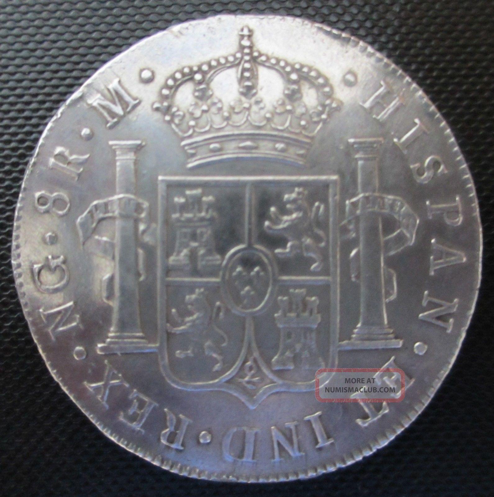 Carolus Iiii Dei Gratia 1795 Hispan Et Ind Rex Ng