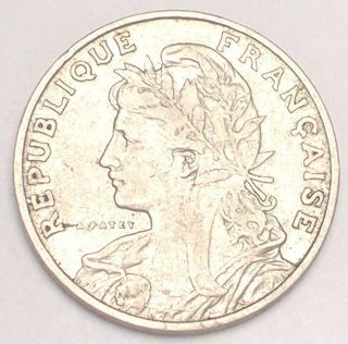 1903 France French 25 Centimes Ceres Coin F, photo
