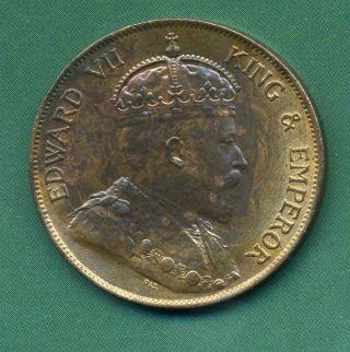 1902 Hong Kong One Cent. photo