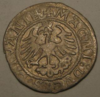 Lithuania 1/2 Groschen 1521 - Silver - Sigismund I.  2702 photo
