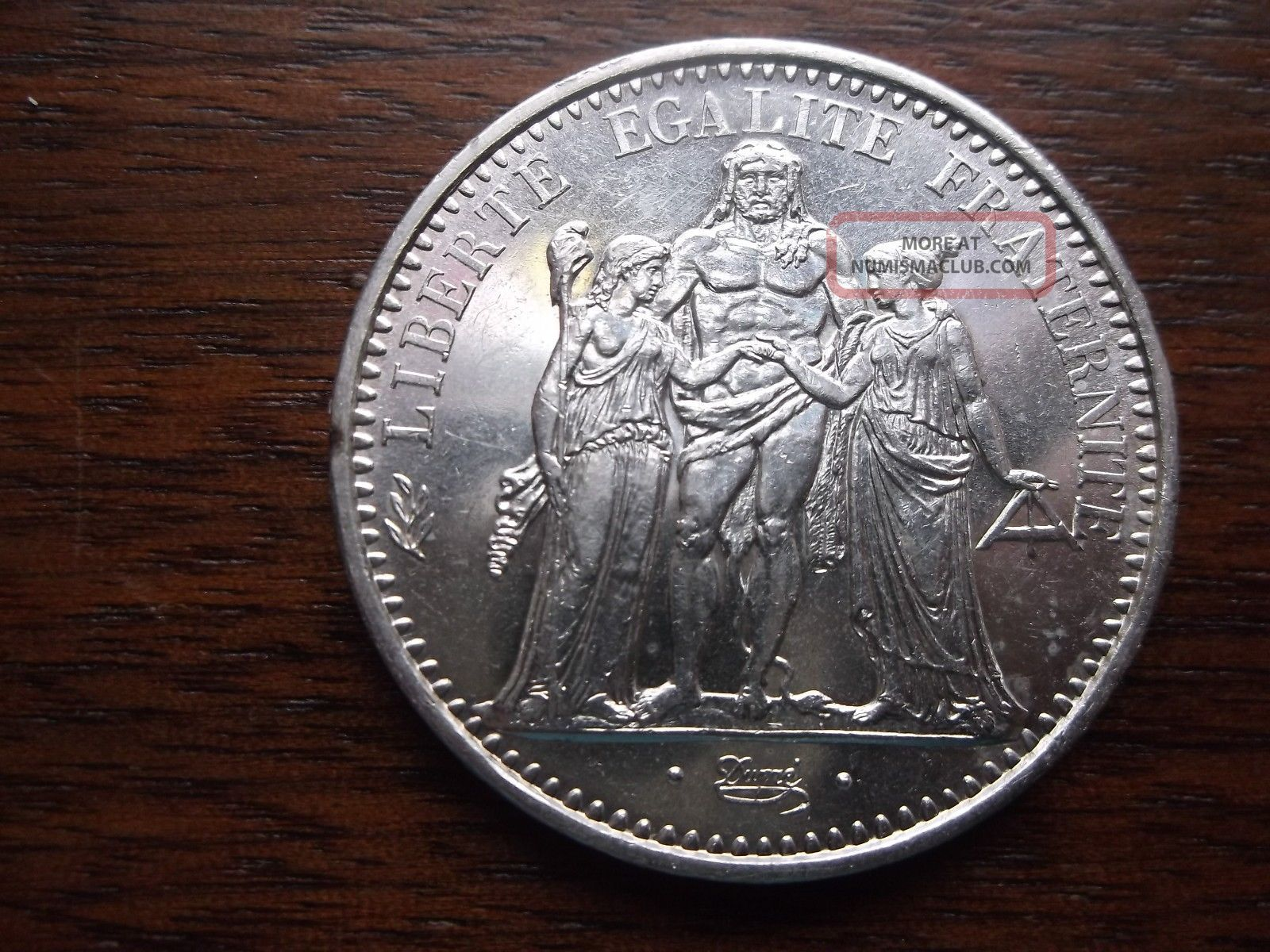1965 France 10 Francs Silver Coin Uncirculated Europe photo
