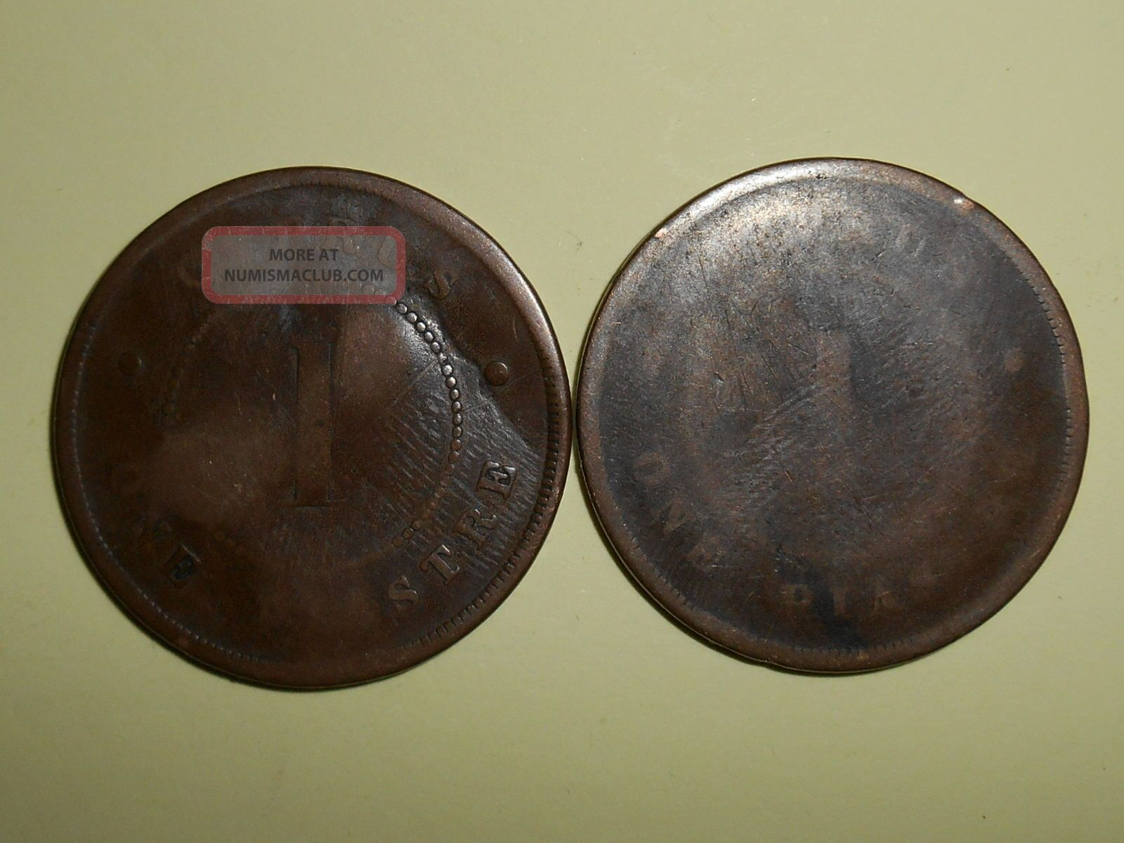 Cyprus Piastres,  1879 Coins: World photo