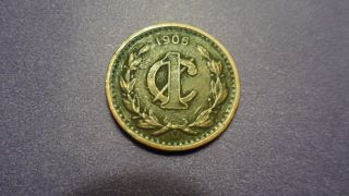 Mexico 1906,  One Centavo.  You Decide Variety. photo