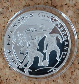 Armenia 100 Dram Coin 2004 Fifa World Cup Germany photo