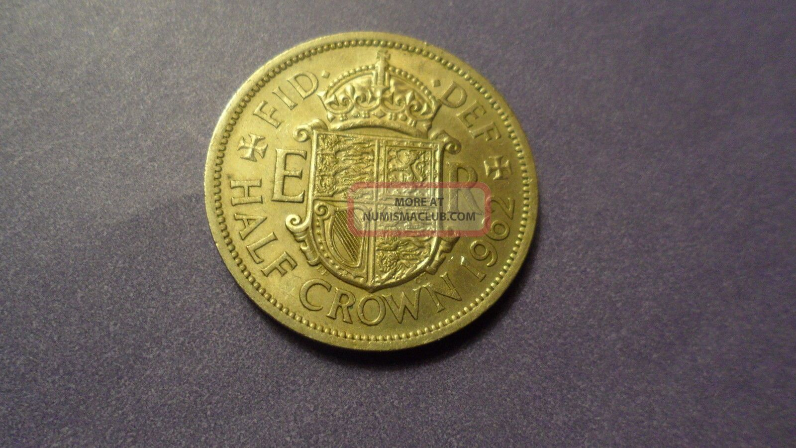 Great Britain 1962,  Half Crown.  Large / Heavy Coin. Coins: World photo