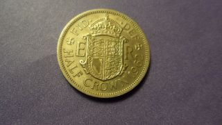 Great Britain 1962,  Half Crown.  Large / Heavy Coin. photo
