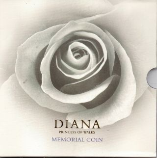 Great Britain - Five Pounds,  1999 Honoring Princess Diana photo