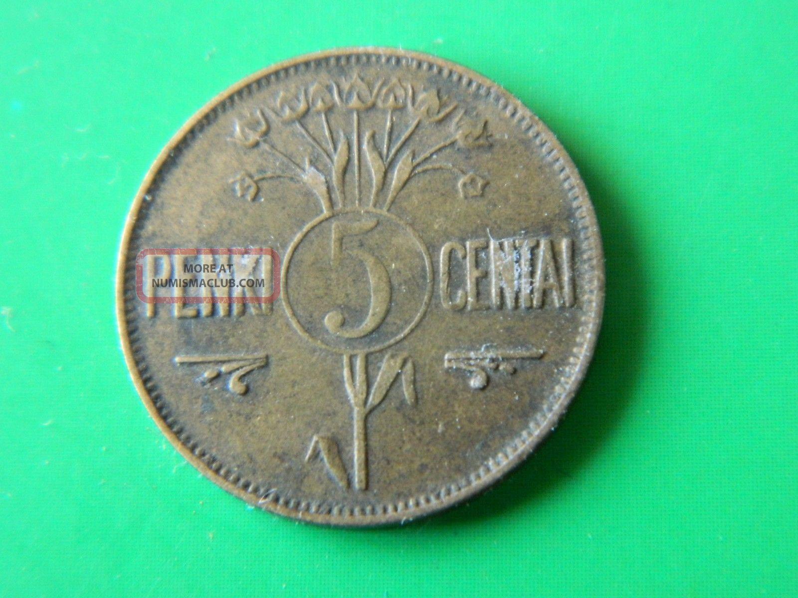 Lithuania 5 Centai 1925 (1765) Europe photo