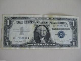 1957 A $1 Silver Certificate photo