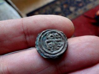 Delhi Sutlanate - Tughloque Shah - Jital - Ex Rare Coin (567 photo