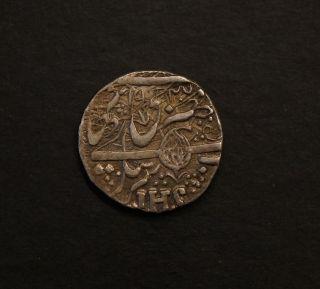 India: Princely States Kashmir Vs1937 (1880) Silver Rupee photo