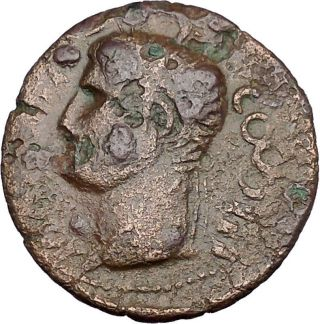 Celtic Barbarous 37ad Marcus Vipsanius Agrippa Ancient Roman Style Coin I45251 photo