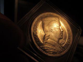 Key Date Scarce: 1931 Latvia 5 Lati: Queen:,  Major Numismatic Rarity photo