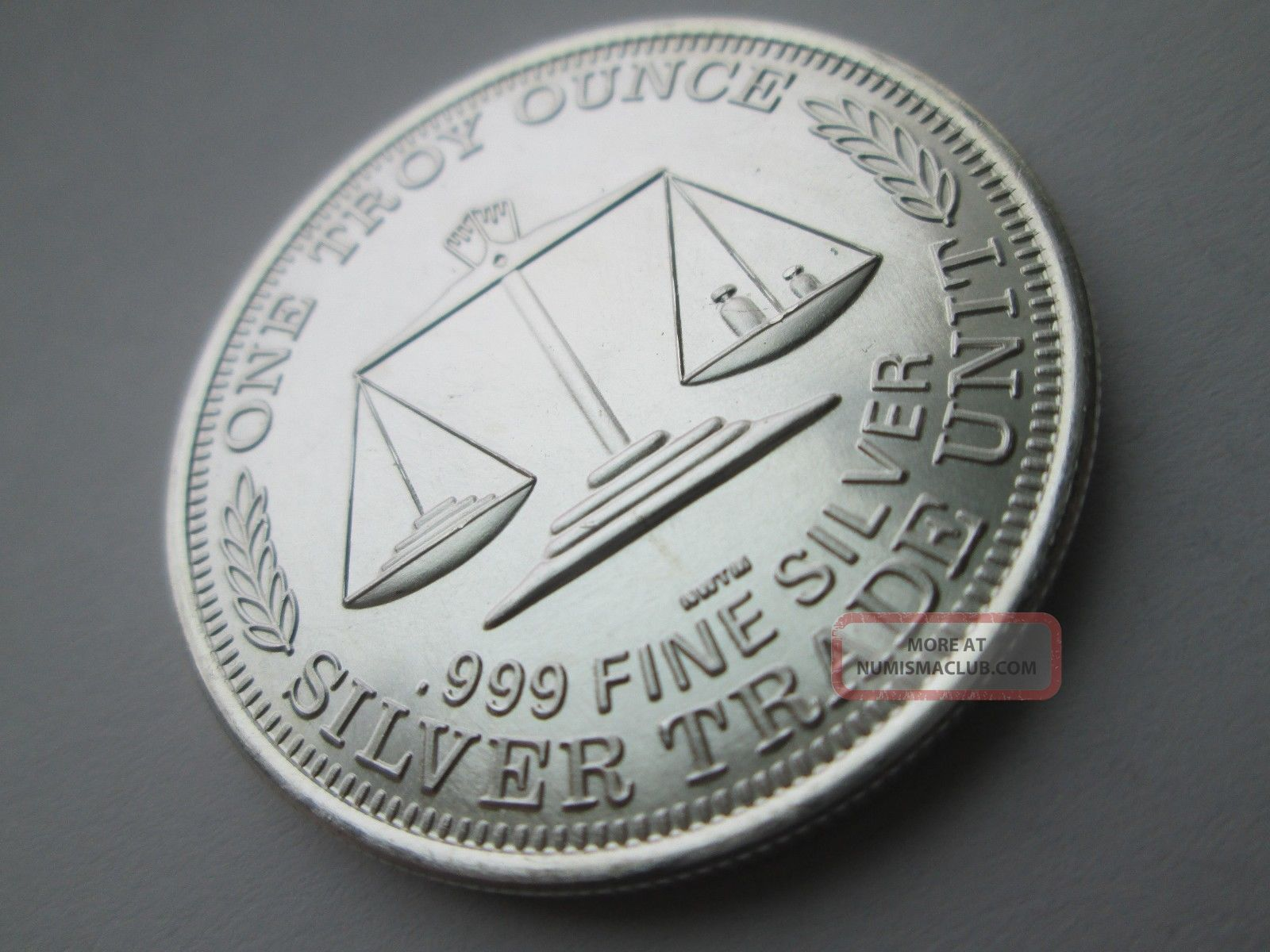 1 Troy Ounce Northwest Territory 999 Fine Silver Round