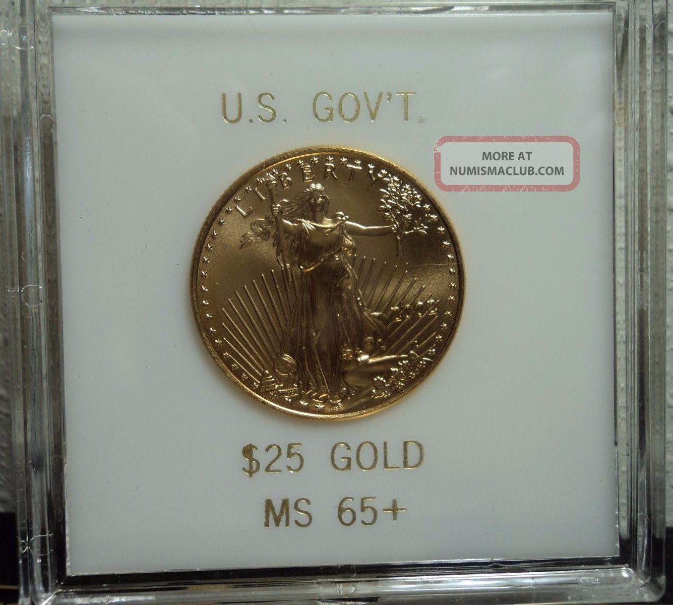 2002 $25 Gold American Eagle Gold photo