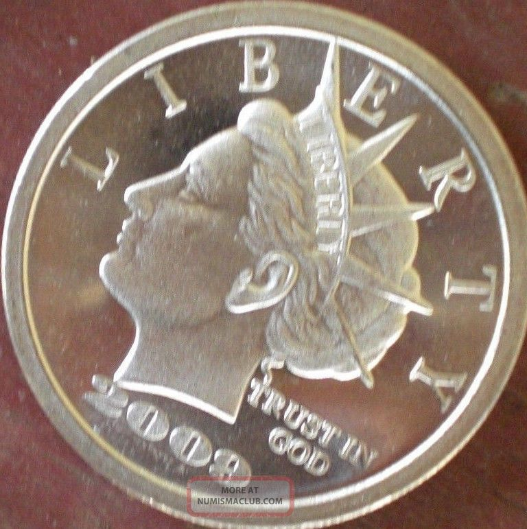 20 2009 Torchback Norfed One Ounce 999 Silver Round