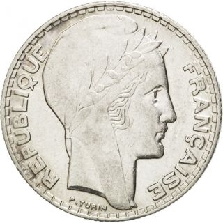 [ 28298] Iiième République,  10 Francs Turin 1934,  Km 878 photo