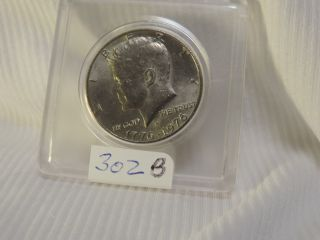 1976 S Kennedy Half Dollar Bu 40 Silver Bicentennial Us Coin 302b photo