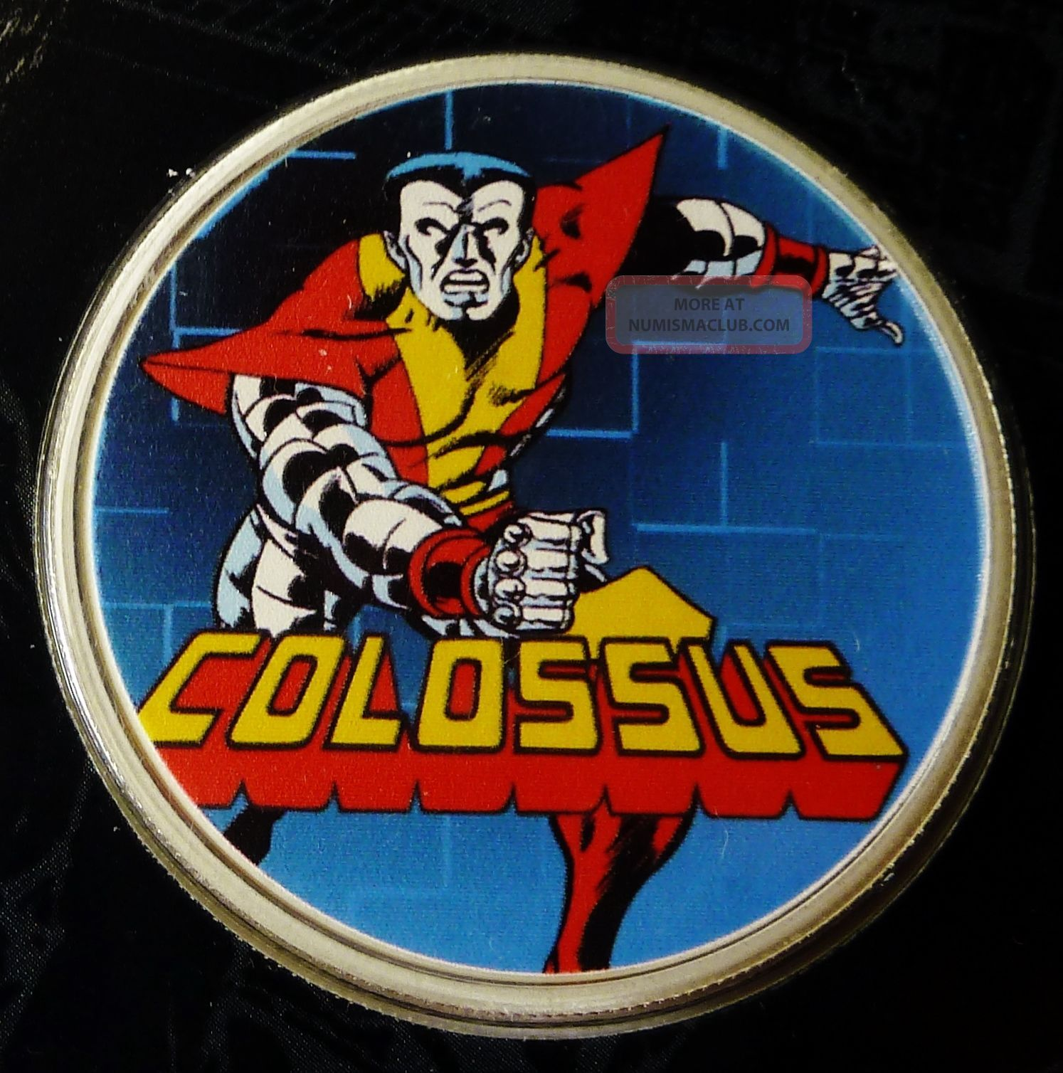 Colossus From Marvel Comics 0 7 Oz 999 Fine Silver Coin