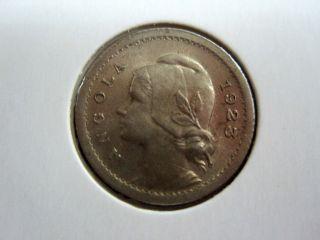 Angola 10 Centavos,  1923,  Km 63 (ref:g2 28) photo