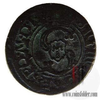 Poland Polish Lithuania Lithuanian Coin Solidus Sigismundus Iii photo