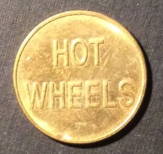 Hot Wheels Brass Token No Cash Value photo